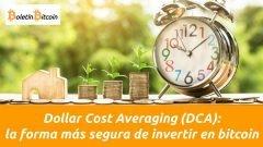 dollar cost averaging estrategia de inversión en bitcoin