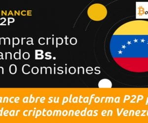 binance p2p permite compara bitcoin en venezuela