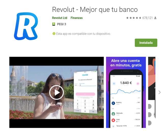 descargar app de revolut criptomonedas para android