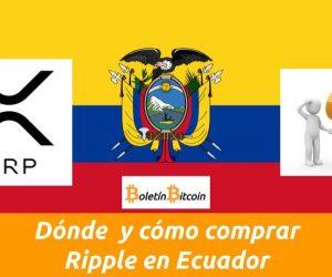 Como comprar Ripple en Ecuador