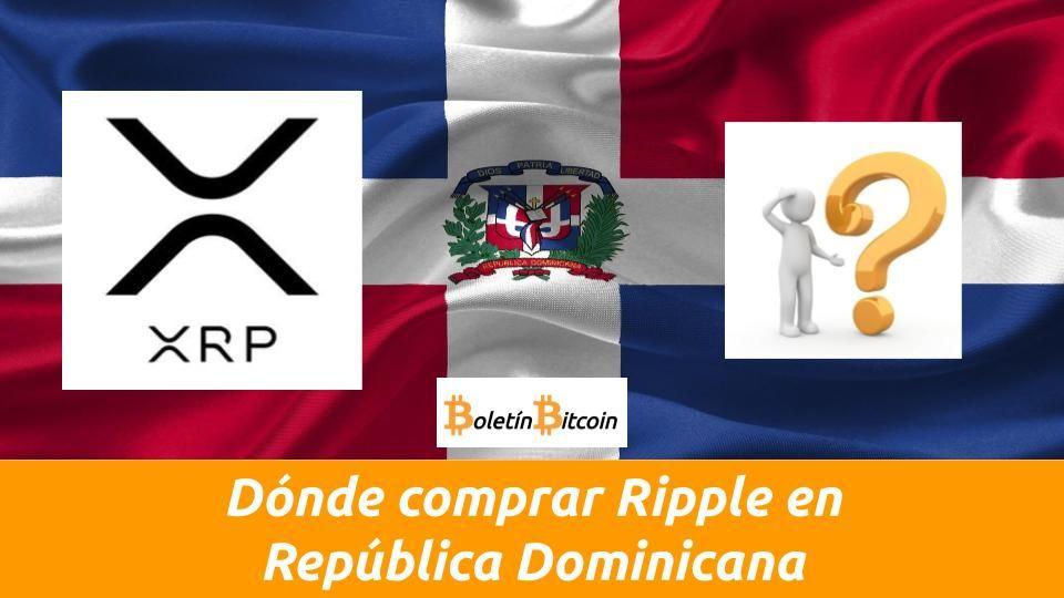 Como comprar Ripple en República Dominicana