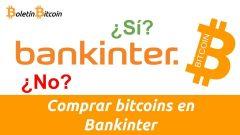 Como comprar bitcoins en Bankinter