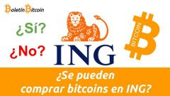 Comprar bitcoin en ING Direct