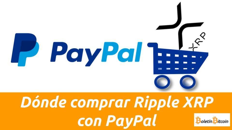 donde comprar ripple con paypal