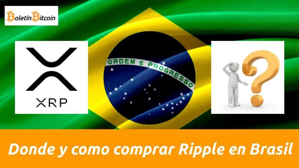 Dónde y cómo comprar Ripple en Brasil