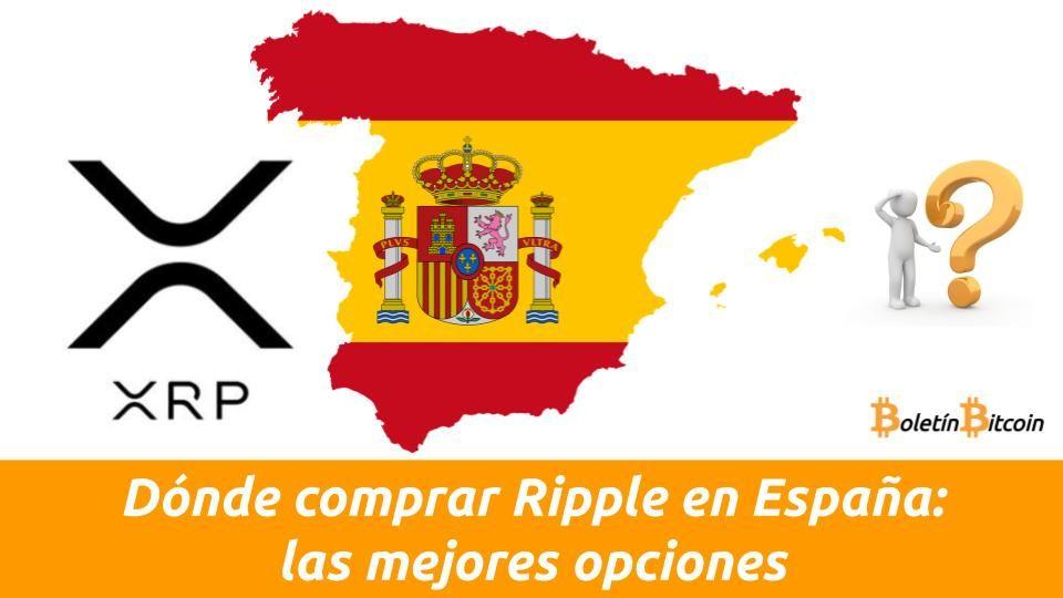 Dónde comprar Ripple en España