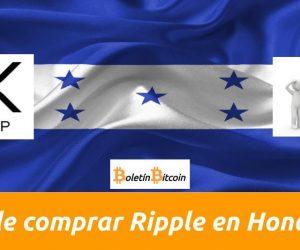 Dónde y cómo comprar Ripple XRP en Honduras