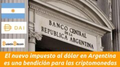 banco central de la republica argentina impuesto al dolar