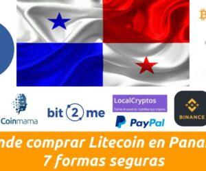 como comprar litecoin en Panamá
