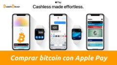 Comprar bitcoins con Apple Pay