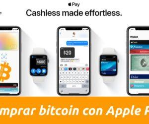 Comprar bitcoins con Apple Pay