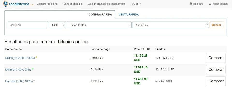 comprar bitcoin con apple pay en localbitcoins