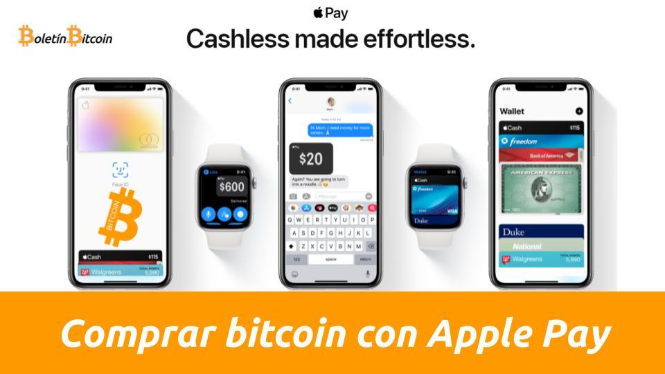 Comprar Bitcoin Con Apple Pay: 3 Opciones » Boletín Bitcoin