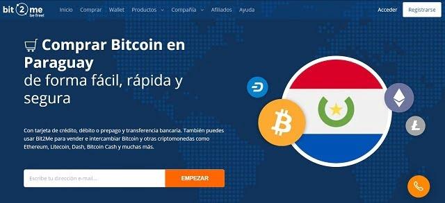 bit2me paraguay