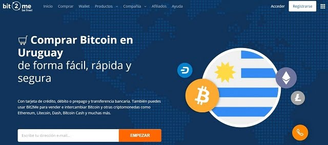 bit2me uruguay