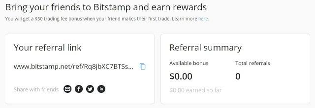 bitstamp referral bonus code