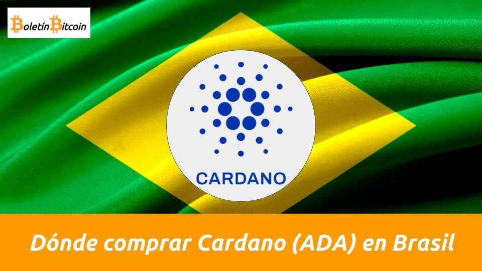 donde comprar cardano en brasil
