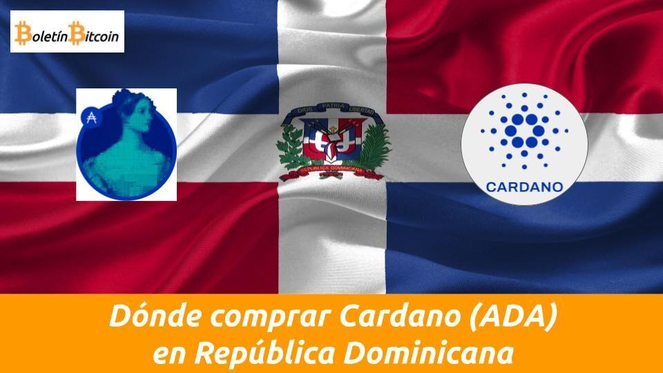 donde comprar cardano en republica dominicana