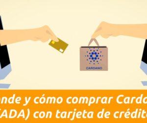 cómo y dónde comprar cardano con tarjeta de crédito