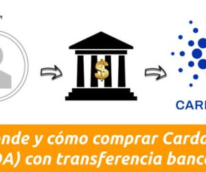 donde y como comprar cardano con transferencia bancaria