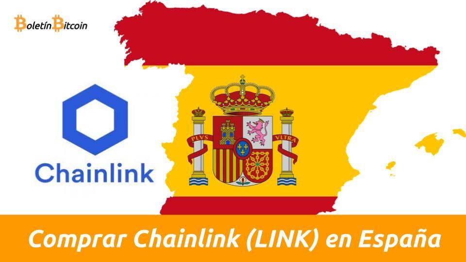 dónde y cómo omprar chainlink en españa con euros