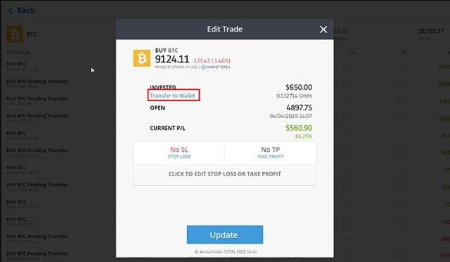 paso 4 sacar bitcoins de etoro