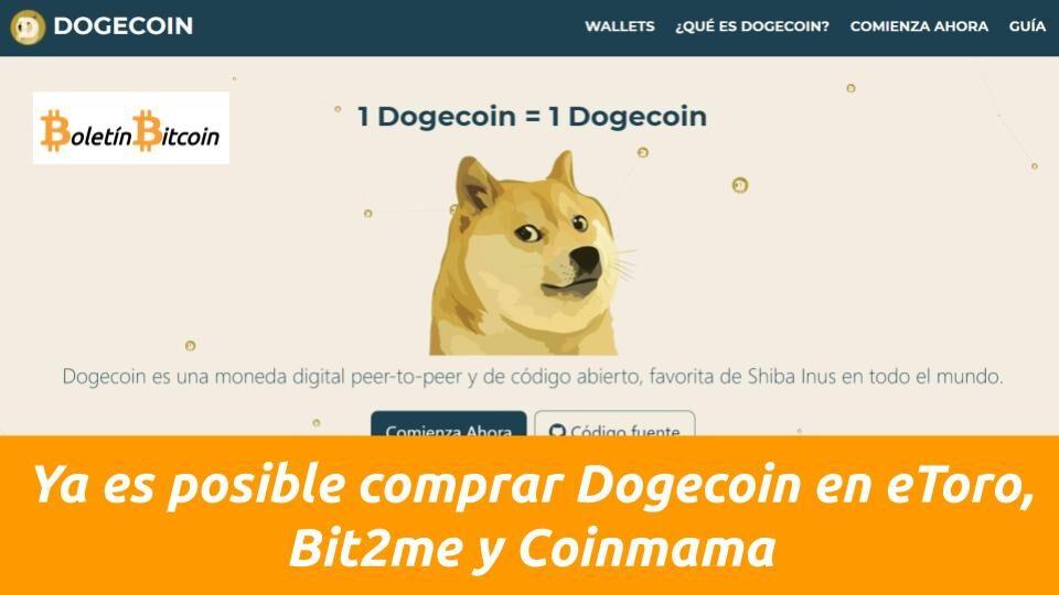 Como comprar dogecoin en america latina
