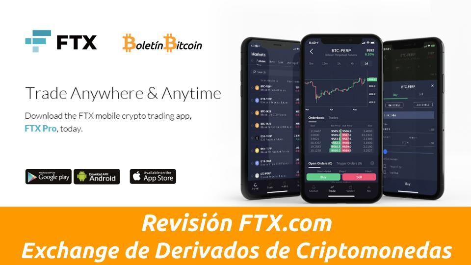 ftx exchange de derivados de criptomonedas