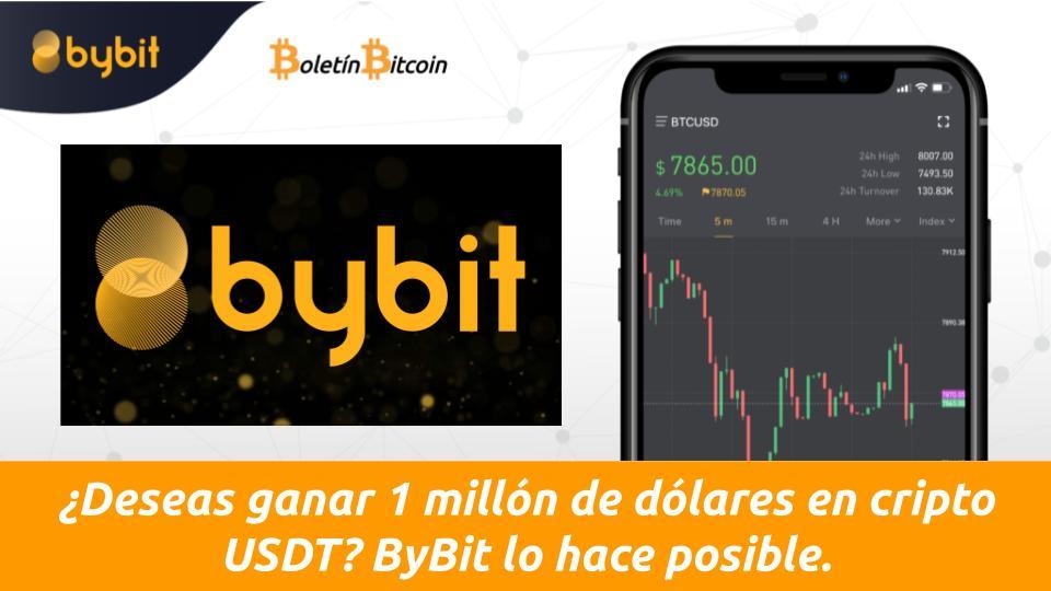 ganar 1 millos de USDT en ByBit