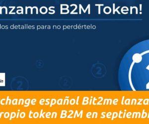 Bit2me lanza su propio token B2M