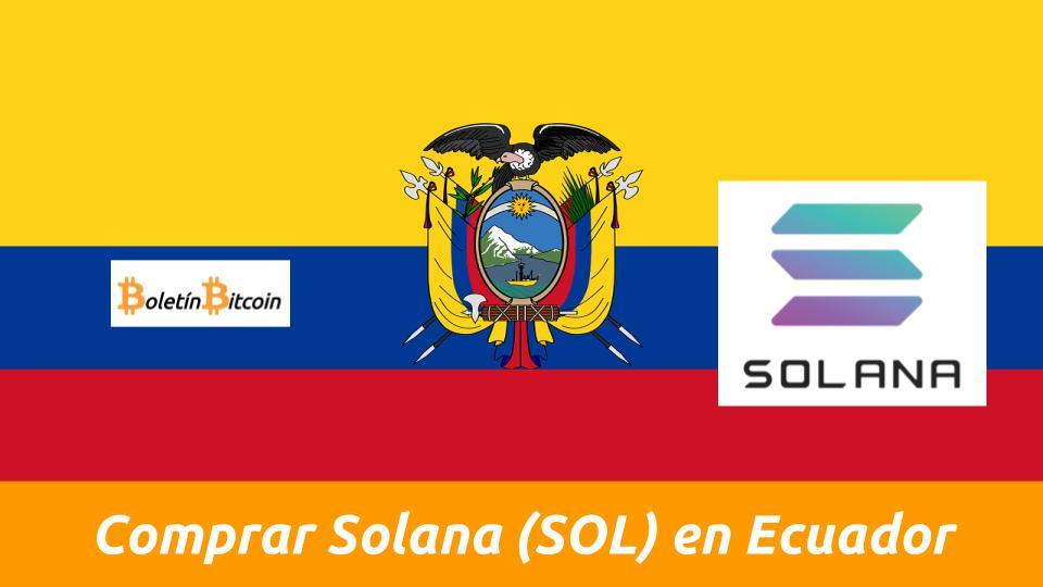 donde comprar solana en ecuador